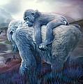 Silverback Gorilla - Long Journey Home by Carol Cavalaris
