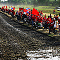 Long Journey Of The Red Rally by Rames Ratyantarakor
