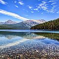 Long Knife Peak At Kintla Lake by Scotts Scapes