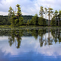 Long Lake Reflection by David Stone