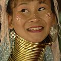 Long Necked Woman Thailand 5 by Bob Christopher
