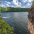 Long Point At Summersville Lake by Mary Almond