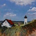 Long Point Lighthouse by Laura Lee Zanghetti