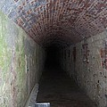 long tunnel in Ft Adams by Catherine Gagne
