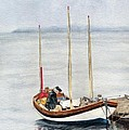 Longboat by Sandy Linden