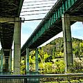 Longest Bridges In Vermont by Sherman Perry