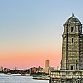 Longfellow Bridge Tower by JC Findley