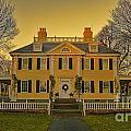 Longfellow House-cambridge Boston by Douglas Barnard