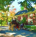 Longfellows Wayside Inn by Barbara McDevitt