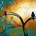 Longing By Madart by Megan Duncanson