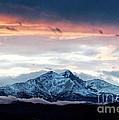 Longs Peak In Winter by Jon Burch Photography