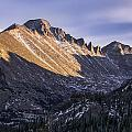 Longs Peak Sunset by Aaron Spong
