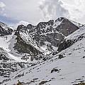 Longs Peak Winter by Aaron Spong