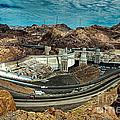Pat Tillman Bridge And Hoover Dam by Bob and Nadine Johnston