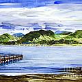 Looking At Morro Bay  by Chuck Hayden