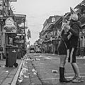 Looking Back At Bourbon Street by John McGraw