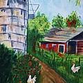 Looking Down On The Farm by Ellen Levinson