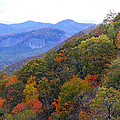 Looking Glass Rock And Fall Colors by Duane McCullough