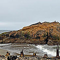 Looking Out On The Pacific Ocean From The Sutro Bath Ruins In San Francisco  by Jim Fitzpatrick