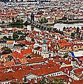 Looking Over Prague by Madeline Ellis
