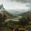 Looking Towards The Val Daosta, Bernese by John Glover
