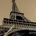 Looking Up At Eiffel by Remi D Photography