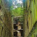 Looking Up Bodmin Jail by Lisa Byrne