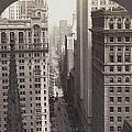 Looking Up Broadway In Nyc by Underwood Archives