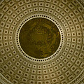 Looking Up Capitol Dome by David Hohmann