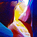 Looking Up In Lower Antelope Canyon In Lake Powell Navajo Tribal Park-arizona  by Ruth Hager