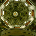 Looking Up Salzburg Cathedral 2 by David Hohmann