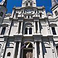 Looking Up St Louis Cathedral by Andy Crawford