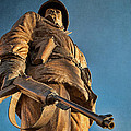 Looking Up To A Hero In Pueblo Colorado by Priscilla Burgers
