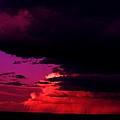 Looming Clouds Over Alberta by Jeff Swan