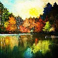 Autumn In Loon Country Ll by Al Brown