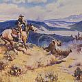 Loops And Swift Horses Are Surer Then Lead by Charles Russell