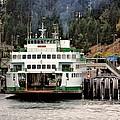 Lopez Island Ferry by Rick Lawler