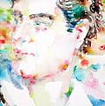 Lord Byron - Watercolor Portrait by Fabrizio Cassetta