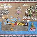Lord Vishnu In Ananta Sayan Posture by Prasida Yerra