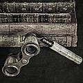 Lorgnette With Books by Joana Kruse