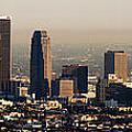 Los Angeles In Silver Light by Rene Sheret