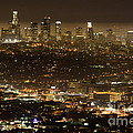 Los Angeles At Night by Bob Christopher