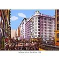 Los Angeles California - Seventh Street - 1938 by John Madison