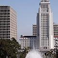 Los Angeles City Hall by Brenda Kean