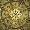 Los Angeles City Hall Rotunda Ceiling by Belinda Greb