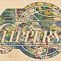 Los Angeles Clippers Poster Art by Florian Rodarte