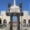 Los Angeles Memorial Coliseum by Jeff Lowe