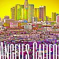 Los Angeles Postcard by Michelle Dallocchio