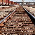 Los Angeles Railroad Tracks by Steve Tracy