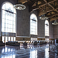 Los Angeles Union Station Original Ticket Lobby Vertical by Belinda Greb